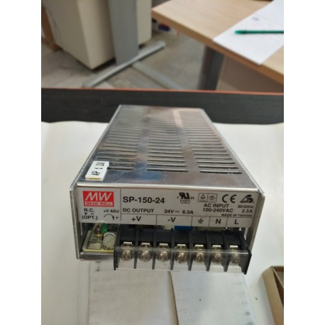 Alimentatore Mean Well 24 VDC